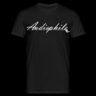 T-Shirts ~ Men's T-Shirt ~ Audiophile Black