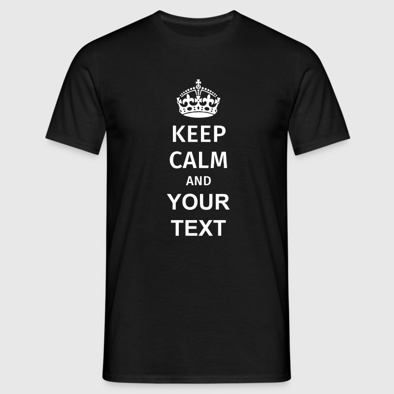 Keep Calm T-shirts - Herre-T-shirt