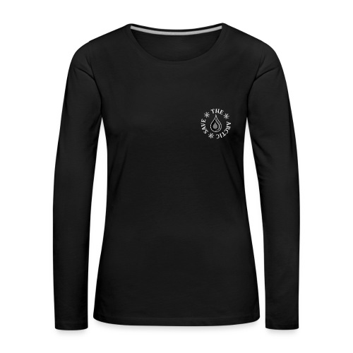 No Arctic Oil - Women's Premium Longsleeve Shirt