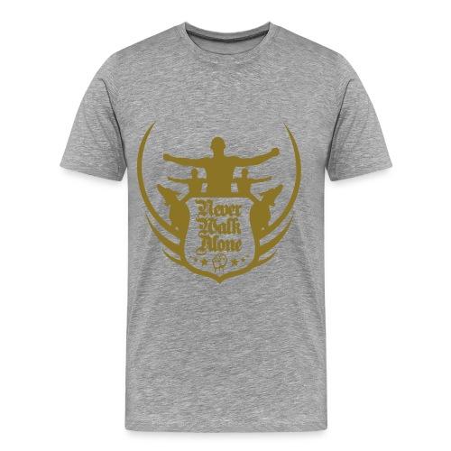 You'll never walk alone - Mannen Premium T-shirt