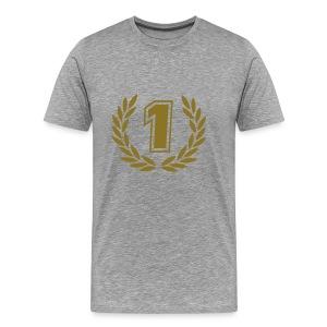 #1 - Mannen Premium T-shirt