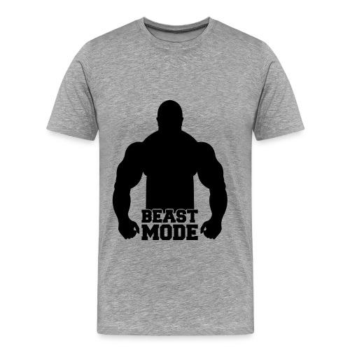 Beast mode - Mannen Premium T-shirt