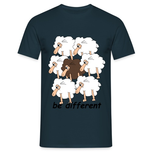 Be Different - Männer T-Shirt