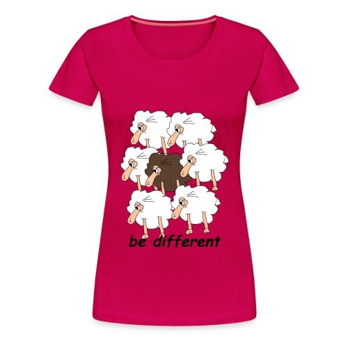 Damen Shirt Be Different - Frauen Premium T-Shirt