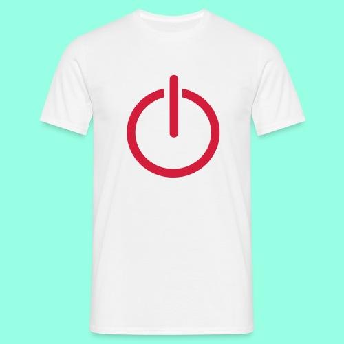 Logout T-Shirt - Männer T-Shirt