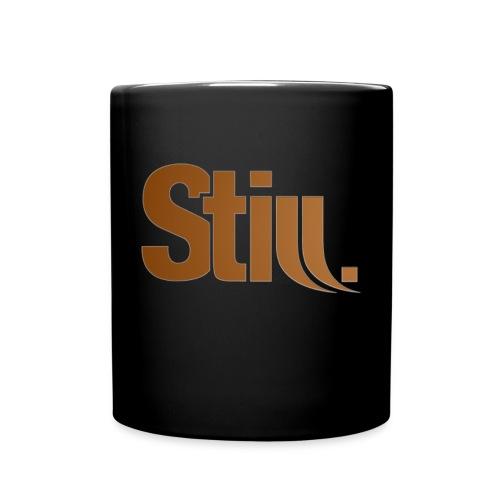 Tasse schwarz mit Still.-Logo - Tasse einfarbig
