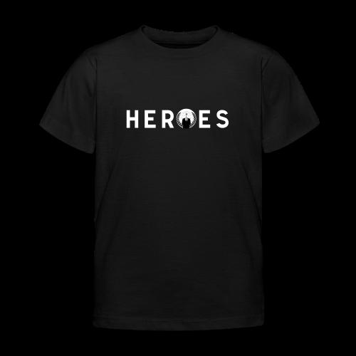 Kids' T-shirt Heroes - Camiseta niño
