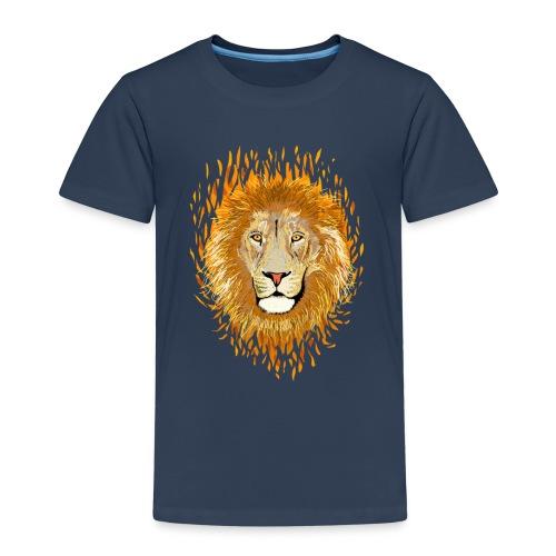 Lion Feu enfant - T-shirt Premium Enfant