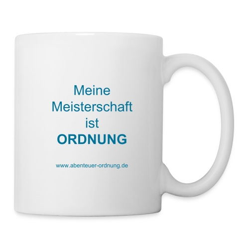 Motivation: Meisterschaft Ordnung - Tasse