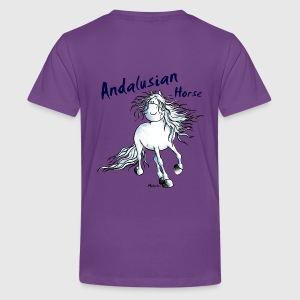 Andalusische Paard - Andalusiër Shirts - Teenager Premium T-shirt