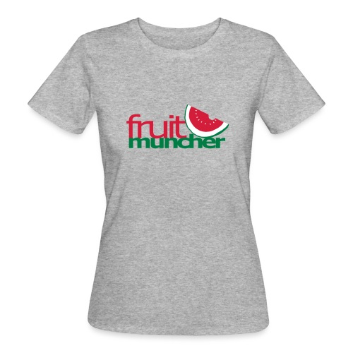 fruit muncher girls - Frauen Bio-T-Shirt