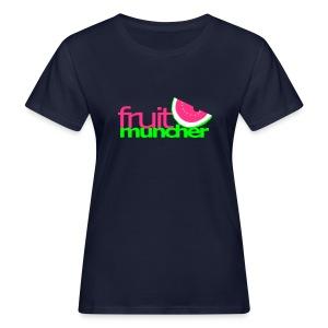 fruit muncher girls - Frauen Bio-T-Shirt
