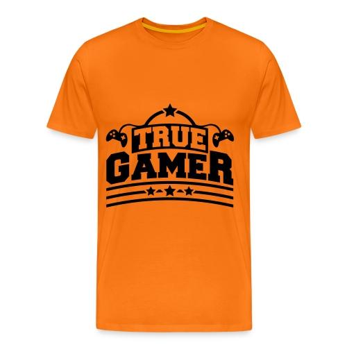 Men - True Gamer T-Shirt - Herre premium T-shirt