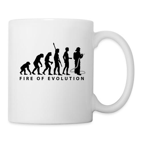 (koffie)tas met opschrift. - Mok