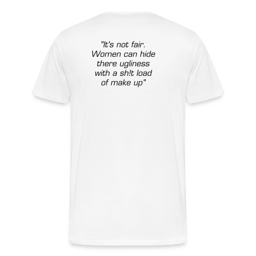 Why make up was really invented - Men's Premium T-Shirt