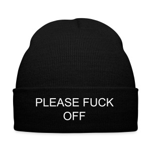 'Fuck off' Beanie  - Winter Hat
