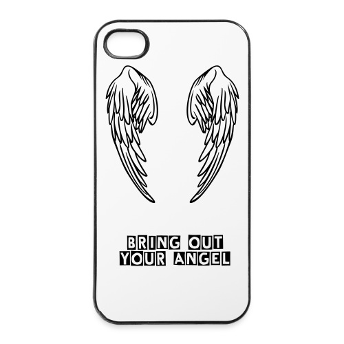 Angel cover - iPhone 4/4s Hard Case