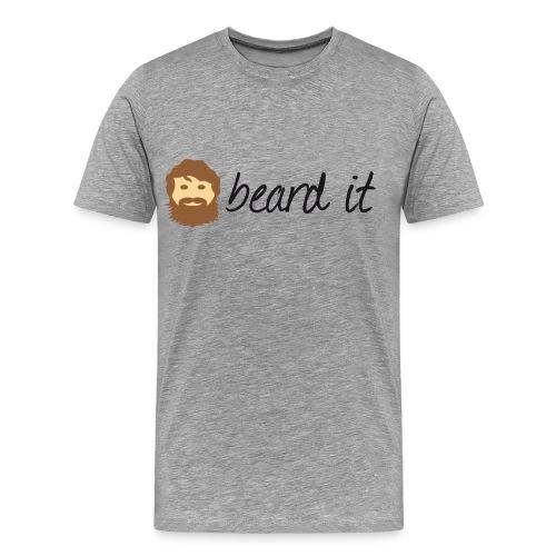 beard it - Männer Premium T-Shirt