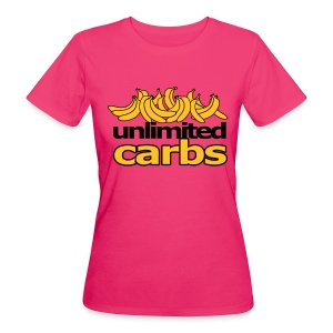 unlimited carbs girls - Frauen Bio-T-Shirt
