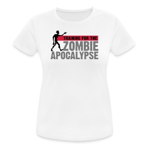Training for the Zombie apocalypse | womens - Women's Breathable T-Shirt