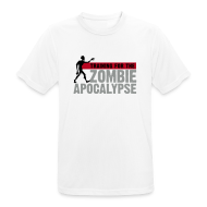 T-Shirts ~ Men's Breathable T-Shirt ~ Training for the Zombie apocalypse | mens