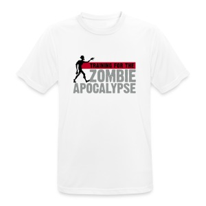 Training for the Zombie apocalypse | mens - Men's Breathable T-Shirt