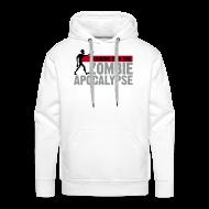 Hoodies & Sweatshirts ~ Men's Premium Hoodie ~ Training for the Zombie apocalypse   mens
