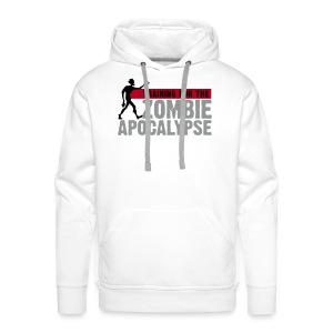 Training for the Zombie apocalypse | mens - Men's Premium Hoodie