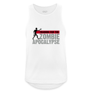 Sports wear ~ Men's Breathable Tank Top ~ Training for the Zombie apocalypse | mens