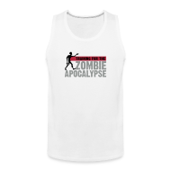 Sports wear ~ Men's Premium Tank Top ~ Training for the Zombie apocalypse | mens
