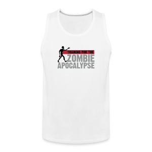 Training for the Zombie apocalypse | mens - Men's Premium Tank Top