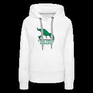 Hoodies & Sweatshirts ~ Women's Premium Hoodie ~ t-rex hates pushups   womens