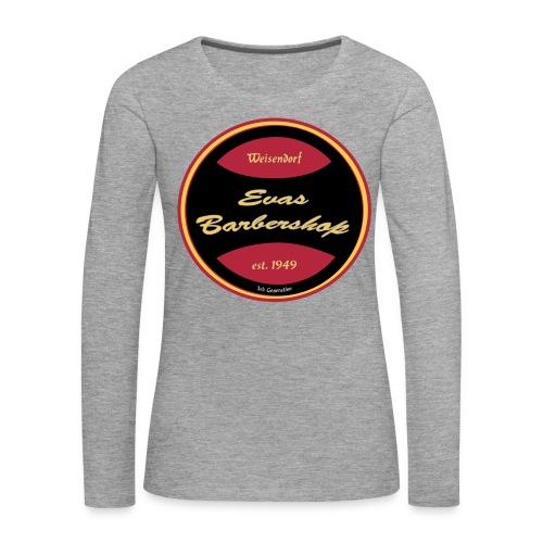 Langarmshirt Evas Barbershop - Frauen Premium Langarmshirt