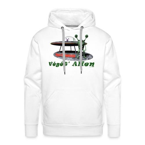 Végét' Alien - Sweat-shirt à capuche Premium pour hommes