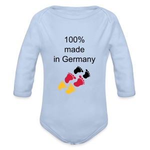 Made in Germany Body - Baby Bio-Langarm-Body