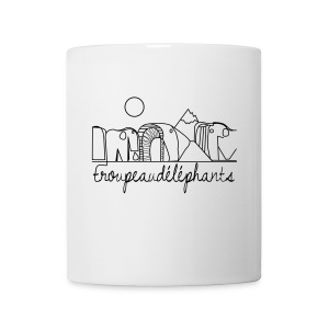 Mug Troupeaudelephants - Tasse