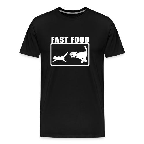 Fast Food Lila - Männer Premium T-Shirt