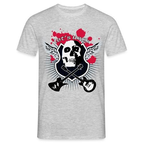 T-Shirt ADDICTSHIRTS Rock&Skull IV - Camiseta hombre