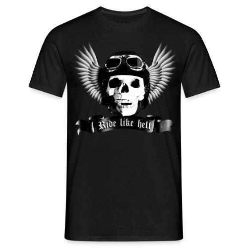 T-Shirt ADDICTSHIRTS Rock&Skull II - Camiseta hombre
