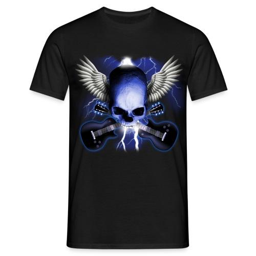 T-Shirt ADDICTSHIRTS Rock&Skull I - Camiseta hombre