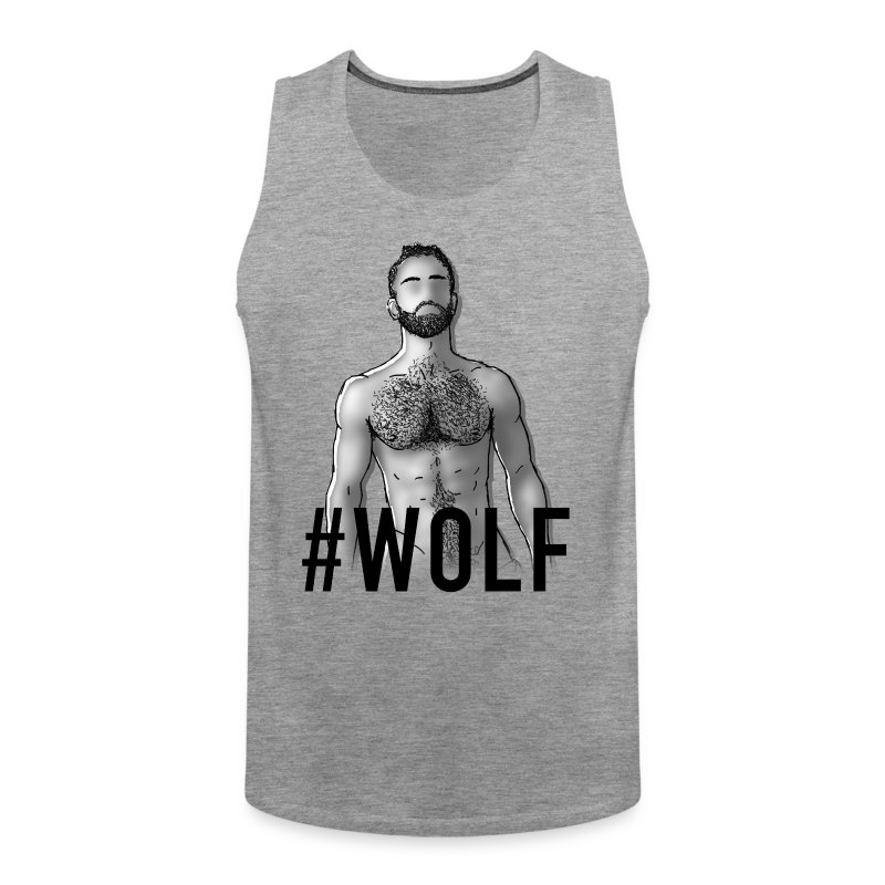 GAY TRIBE GEAR TANK / WOLF - Men's Premium Tank Top