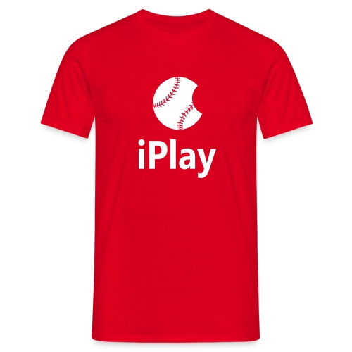 Baseball Shirt iPlay - Men's T-Shirt