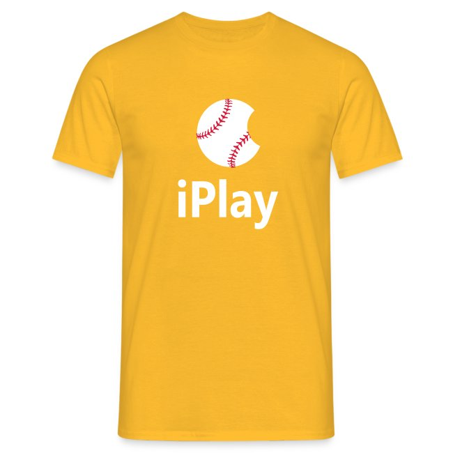 "Baseball Shirt ""iPlay"""