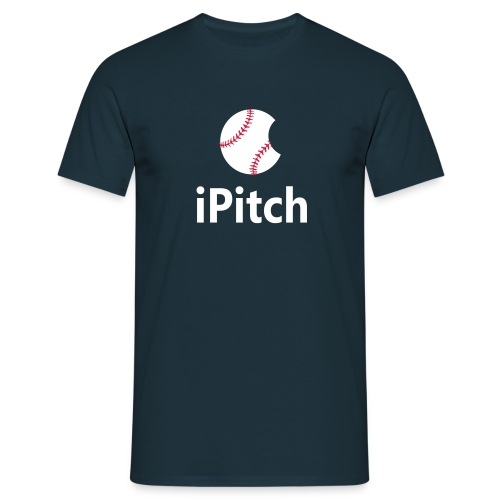 Baseball Shirt iPitch - Men's T-Shirt