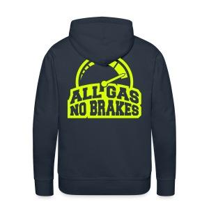 Polo a capuche all gas - Sweat-shirt à capuche Premium pour hommes