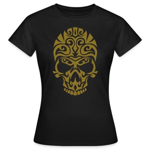 T-Shirt ADDICTSHIRTS Rock&Skull X - Camiseta mujer