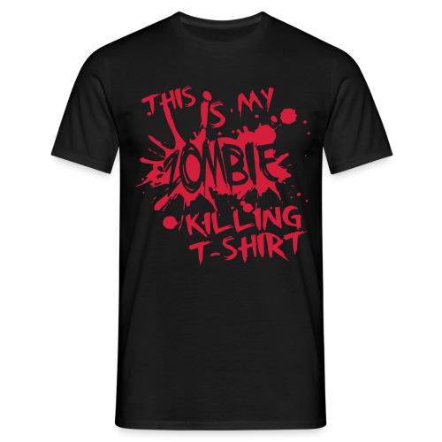 T-Shirt ADDICTSHIRTS Zombie I - Camiseta hombre