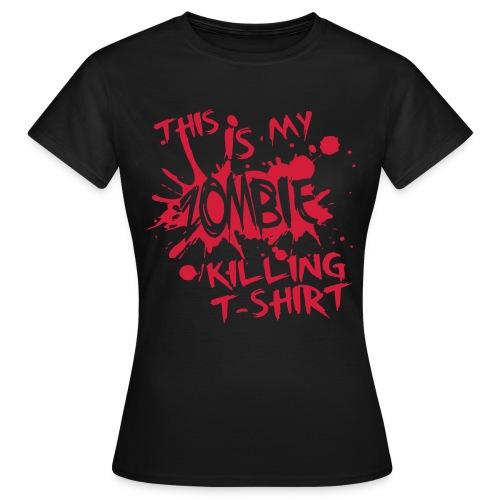 T-Shirt ADDICTSHIRTS Zombie I - Camiseta mujer