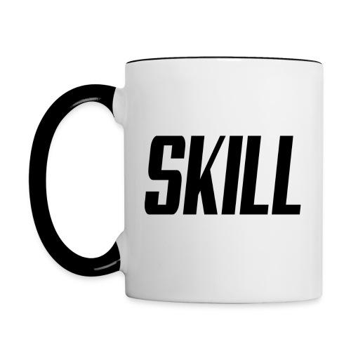 Skill Coffee - Right handed v1 - Contrasting Mug