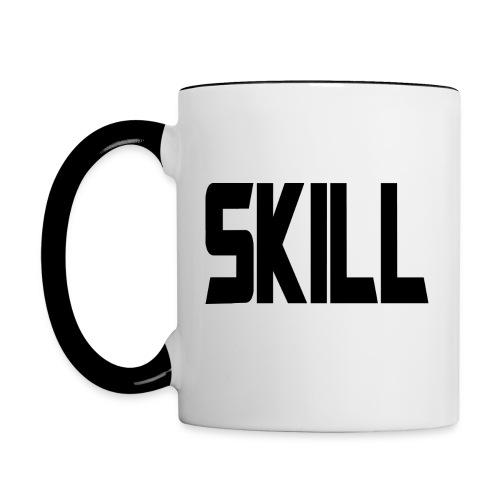 Skill Coffee - Right handed v2 - Contrasting Mug